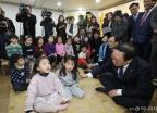 유치원 찾은 민주당