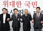 선관위회의 참석한 당대표 후보 3인방