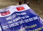 북 방문단 환영 준비하는 베트남 우정유치원