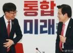 황교안 대표 만난 김상조 위원장