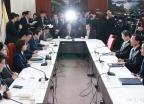자한당 북핵외교안보특위-방미단 연석회의 개최
