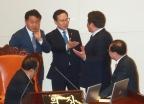 나경원 '文, 김정은 대변인' 발언에 국회 아수라장