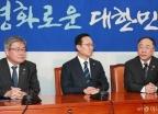 홍남기-이재갑, 최저임금법-근로기준법 통과 촉구 국회 방문
