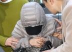 '14개월 영아 학대' 아이돌보미 영장심사 출석
