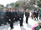 '임시정부수립 100주년' 현충원 찾은 민주당