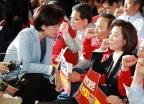 회의장 막은 자유한국당