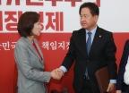 자유한국당 찾은 서주석 국방차관