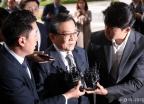 '뇌물수수 및 성범죄 의혹' 김학의 검찰 출석
