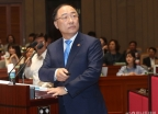 더불어민주당 워크숍 강연하는 홍남
