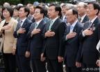 '6.10 민주항쟁 기념식' 참석한 여야 당대표들