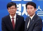 김상조, 더불어민주당 예방