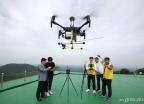 한국공항공사 '항행안전시설 성능점검 드론시스템'