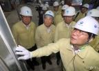 성윤모 장관, 하계전력수급 현장 점검