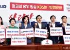 KBS 규탄하는 자유한국당