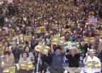"""촛불 들고 """"검찰 개혁"""" vs """"조국 사퇴"""" 곳곳 시위"""