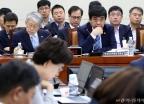 국회 과방위 출석한 한상혁-최기영