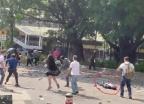 시위대가 던진 벽돌에…홍콩 70세 노인 사망