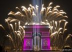 파리 밤하늘 밝힌 2020년 축하 불꽃