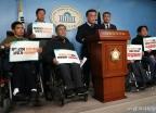 이해찬 규탄하는 장애인총연합회
