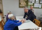 [사진] 전의요셉의집 방문한 김용삼 문체부 1차관