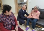 [사진] 설 명절 앞두고 전의요셉의집 찾은 김용삼 1차관