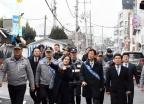 [사진] 대전역 주변 합동 순찰 나선 진영 장관