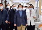 선별진료소 점검하는 정세균 총리
