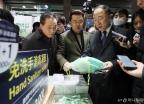 신종 코로나바이러스 관련 현장 점검 나선 홍남기