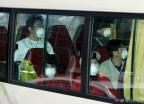 이천 격리시설 향하는 우한 교민 버스