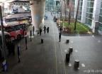 코로나19 여파에 한산한 버스정류장