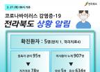 전북 군산서 코로나19 확진자 1명 추가…아들 방문 대구 부부 확진