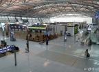 한산한 모습의 인천공항