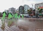 성북구, 코로나19 극복 위한 특별 물청소 실시