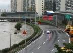 전면 통제된 동부간선도로
