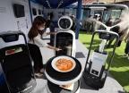 '한자리에 모인 자율주행 로봇'