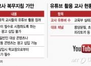 [단독]교육부, 교사 유튜브 활용 장려키로…광고는 '일부허용'