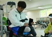 [영상]군인때 두 다리 잃었지만… 노젓는 청년 이야기