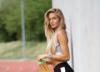 '가장 섹시한 육상스타' 알리사 슈미트, 도르트문트와 이색 훈련