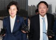 """법원 """"법무장관의 검찰총장 통제, 최소한으로""""…사면초가 秋"""