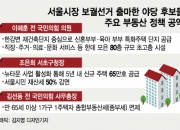 한강변 80층 시설·뉴타운…14개월 임기 서울시장이 가능할까