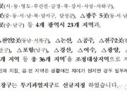 """""""풍선효과 막는다""""…부산·대구 등 36곳 조정대상지역 지정"""