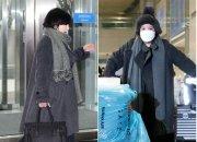 에이미 5년 전 옷 입고 입국…손엔 1600만원대 에르메스 버킨백?