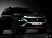 현대차 고성능 'N' 최초 SUV 베일 벗었다..코나 N 티저 공개