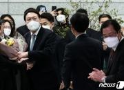 윤석열 전 총장, 야권 어느 쪽이든 대선 출마시 지지율 45%
