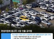 [단독]현대차 10년간 중고차 시장 진출금지法 나온다