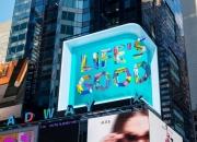 美타임스스퀘어 전광판서 LG전자가 전달한 메세지는?