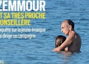 60대 대선후보와 20대 보좌관의 해변 포옹…프랑스 발칵