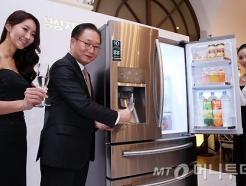 <strong>삼성전자</strong>, '지펠 스파클링 냉장고' 출시