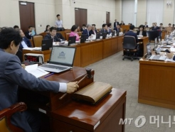 자유한국당이 의사봉 쥐고 있는 김부겸 청문회…개의 '막막'