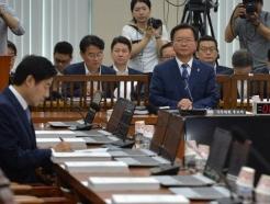 자유한국당이 의사봉 쥐고 있는 김부겸 청문회…무산 위기